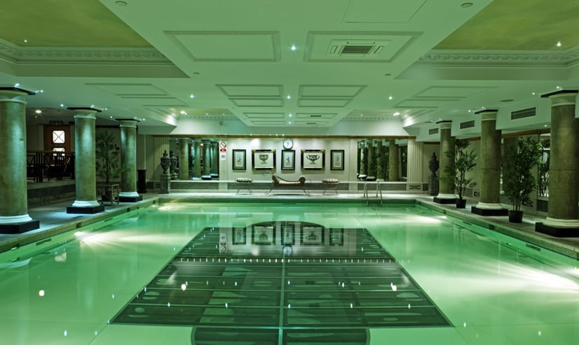 Our stunning 13 metre greco romanesque heated swimming - Grange mobel deutschland ...
