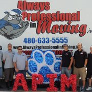 Bruizer Photo Of Always Professional In Moving Gilbert Az United States Our Drivers