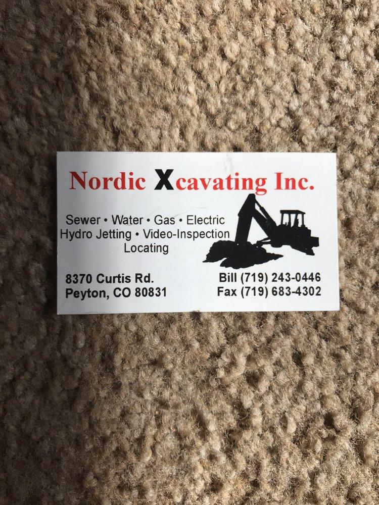 Nordic Xcavating Inc: 8370 Curtis Rd, Peyton, CO