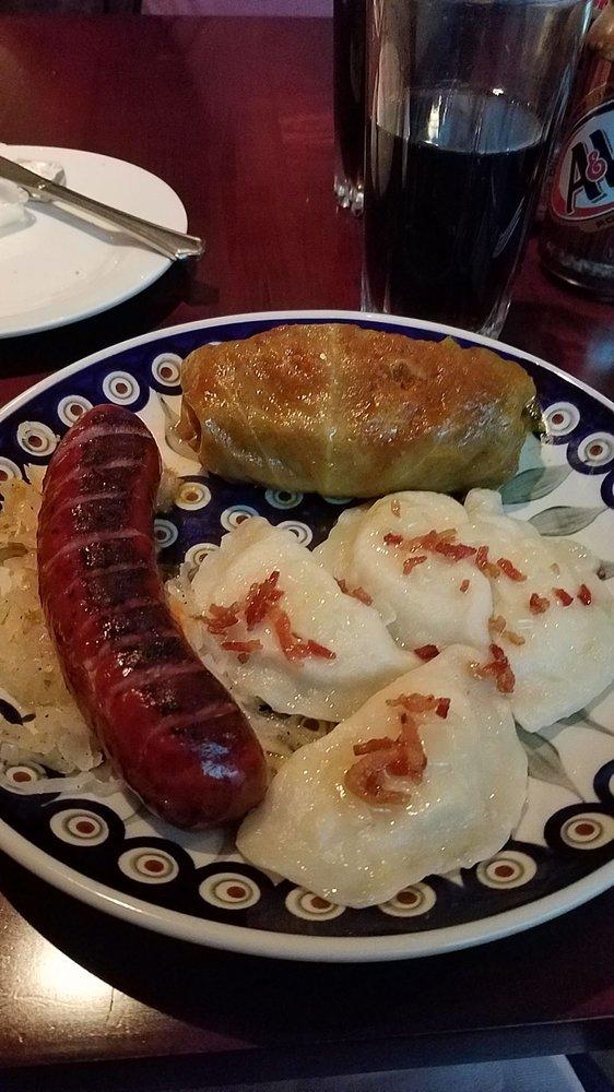 Food from Podlasie Polish Restaurant