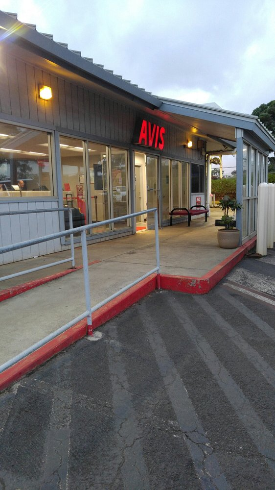 Avis Rent A Car Lihue Airport