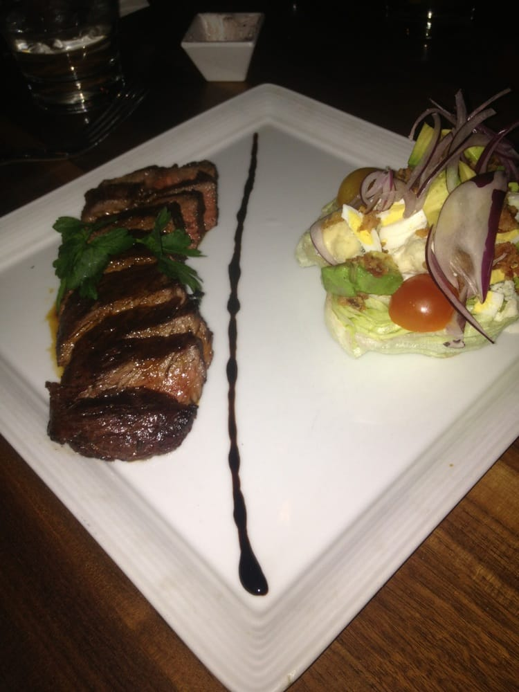 Hanger steak salad ($18) - Yelp