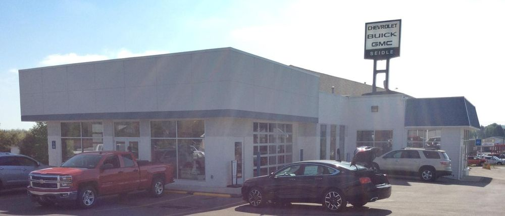 Seidle Chevrolet Buick GMC: 1141 E Main St, Clarion, PA