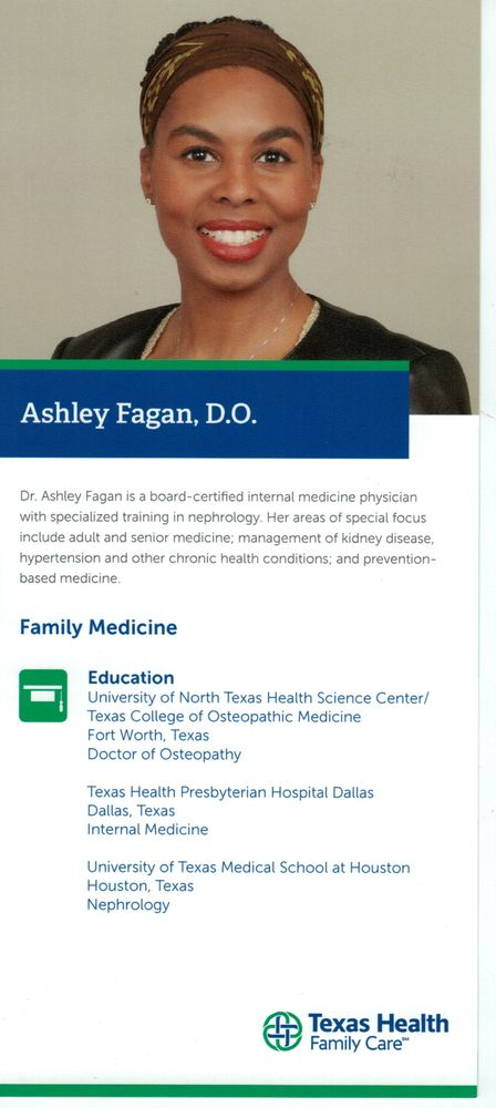 Texas Health Family Care - 18 Reviews - Internal Medicine