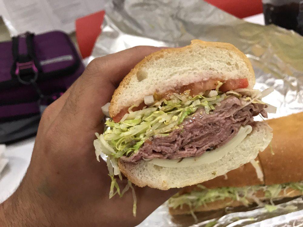 Food from Longfellow's Sandwich Deli