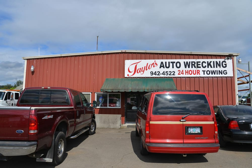 Taylor's Towing & Auto Wrecking: 78869 Thornton Ln, Cottage Grove, OR