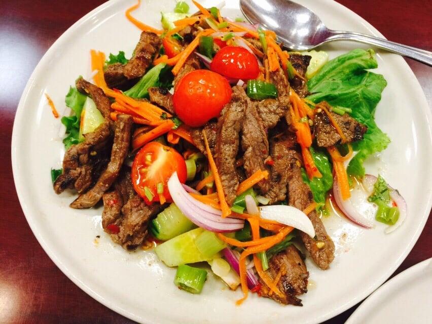Bangkok St Thai Restaurant Fairfax Va