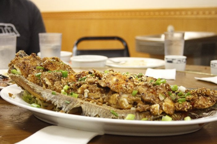 Sichuan steamed whole fish with rice powder yelp for Steamed whole fish