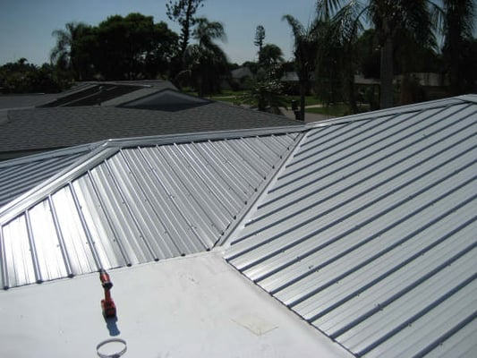 We Also Do Flat Metal Roofing Like The 5v Crimp Yelp