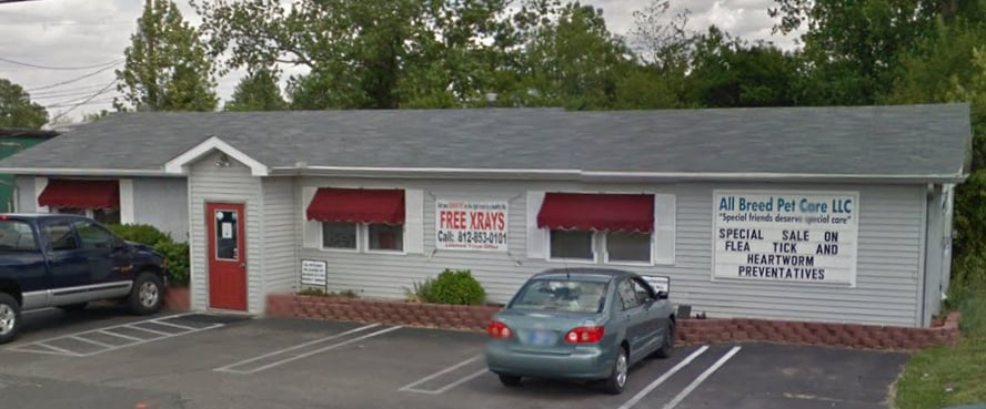 All Breed Pet Care: 7501 Peachwood Dr, Newburgh, IN