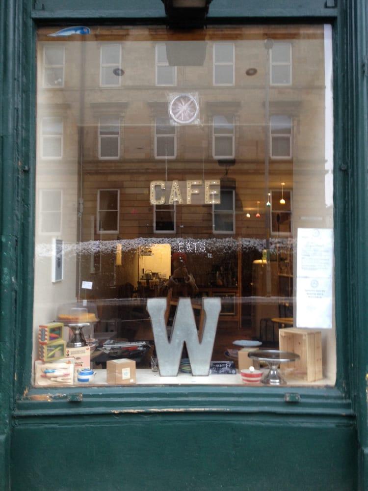 Knitting Queen Margaret Drive : William 枚の写真 カフェ queen margaret drive west end