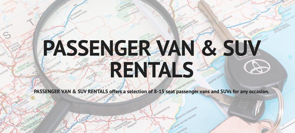 Passenger Van & SUV Rentals: Canton, MS