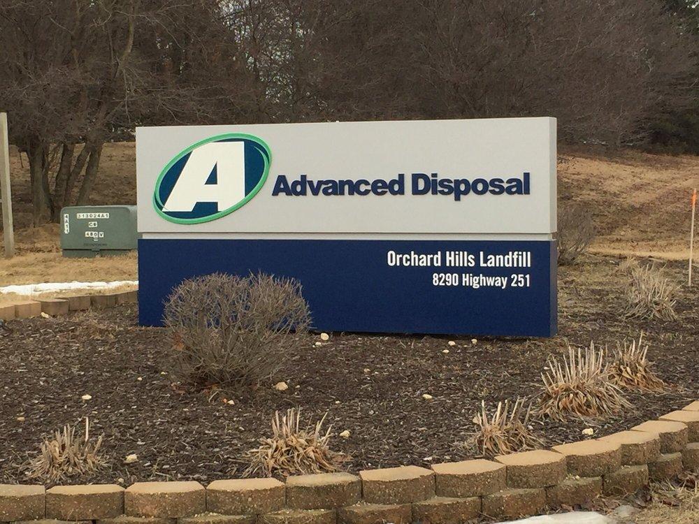Advanced Disposal Orchard Hills Landfill: 8290 N Il Route 251, Davis Junction, IL