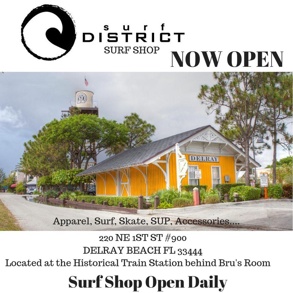 The Salt Fly Rentals & The Drop In surf Shop: 310 NE 4th St, Delray Beach, FL