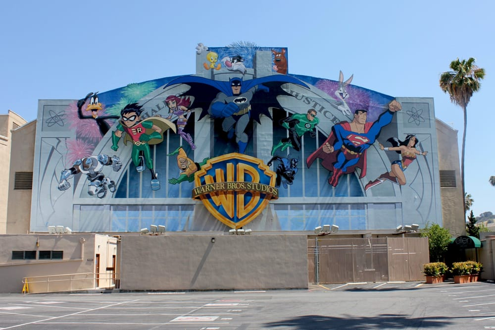 Warner Bros Mural In A Parking Lot Yelp