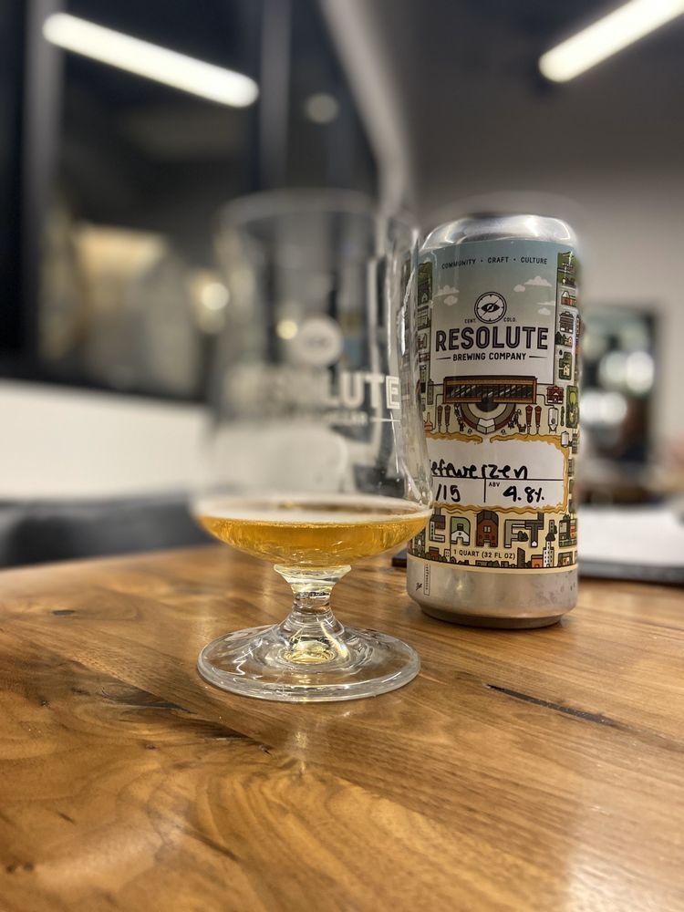 Resolute Brewing Tap & Cellar: 18148 W 92nd Ln, Arvada, CO