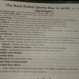 Bad habits dodge city ks