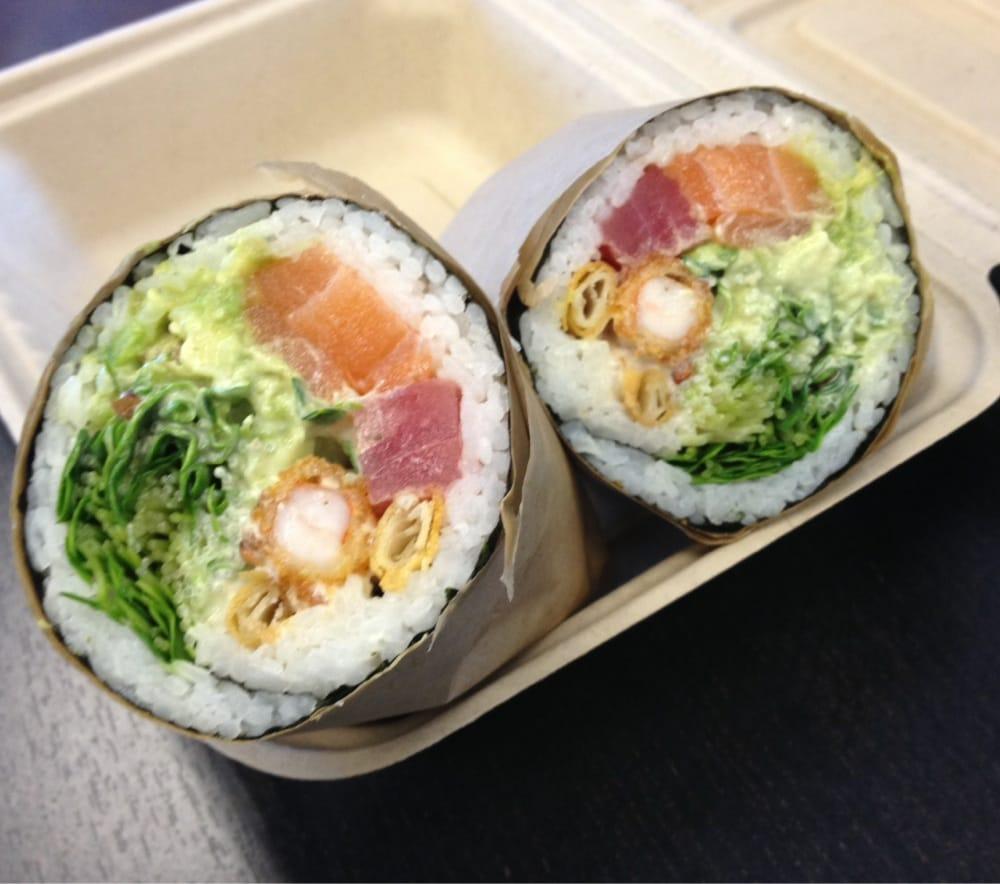 Sashimi sushi burrito | Yelp