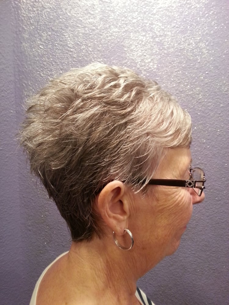 My Beautiful Mommy Rocking Her Razor Cut Pixie And