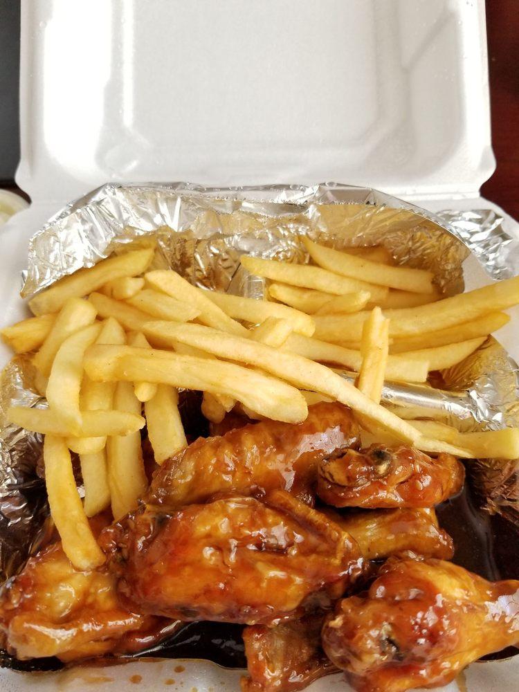 Food from 5-Twenty Wings
