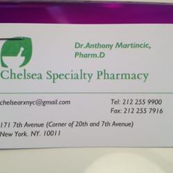 Chelsea specialty pharmacy drugstores 171 7th ave chelsea new photo of chelsea specialty pharmacy new york ny united states business card colourmoves