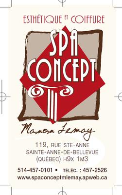 Spa Concept Manon Lemay
