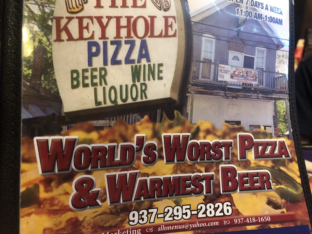 Keyhole Pizza: 6621 State Rte 66, Fort Loramie, OH
