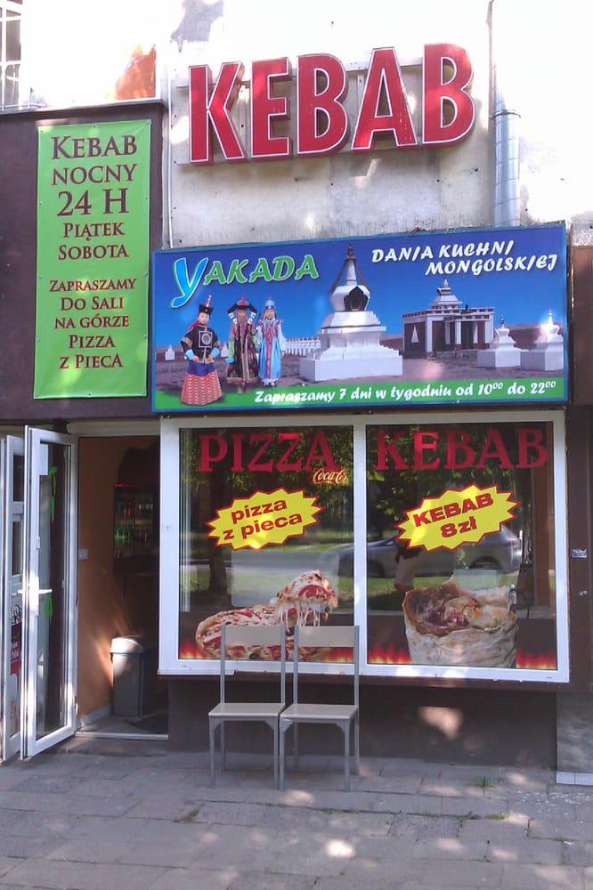 Kebab i Kuchnia Mongolska Yakada 24h  Mongolian  ul   -> Kuchnia Amica Serwis Warszawa