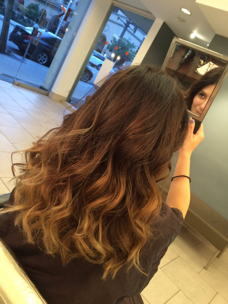 Seamless Progressively Lighter Hair Color Yelp