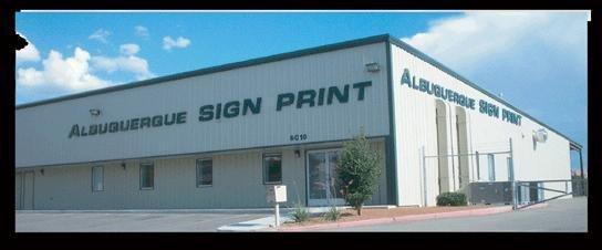 Albuquerque Sign Print
