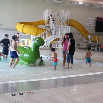 Photo Of Urbana Indoor Aquatic Center   Urbana, IL, United States. Splash  Pad