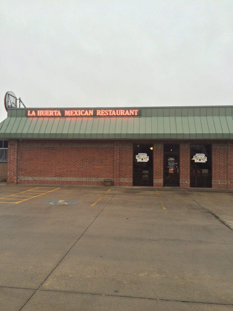 La Huerta Mexican Restaurant Conway Ar Menu