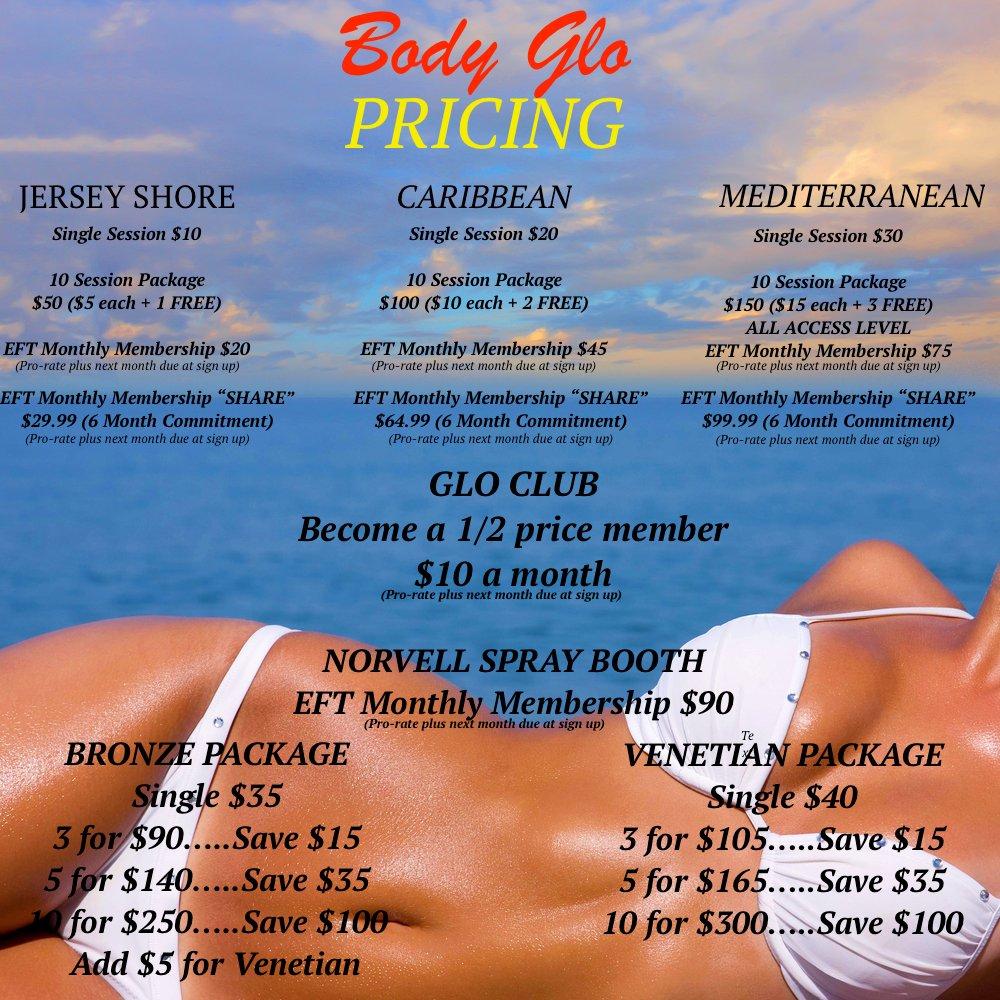 Body Glo Tanning: 576 Bergen Blvd, Ridgefield, NJ