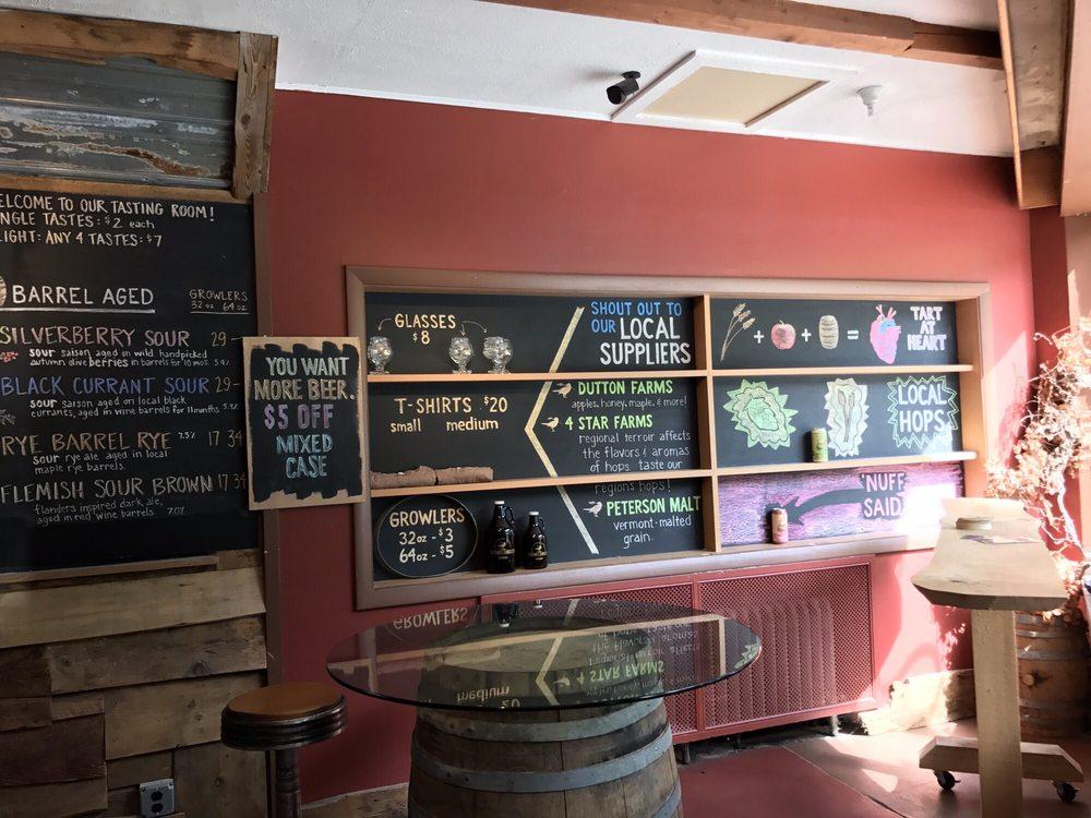 Hermit Thrush Brewery: 29 High St, Brattleboro, VT