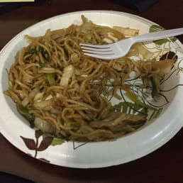 Mizu Hibachi & Sushi - New City, NY, United States. Leftover udon noodles. Tasted better the 2nd day.