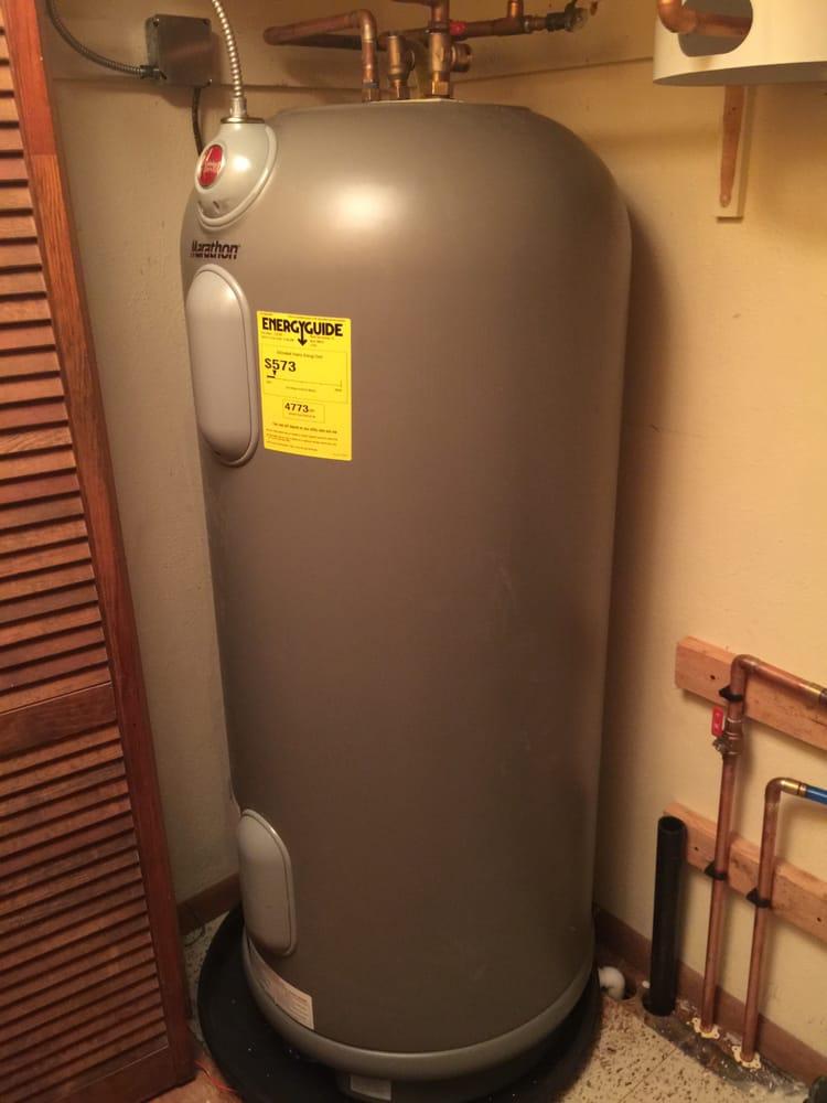 rheem marathon water heater installation yelp. Black Bedroom Furniture Sets. Home Design Ideas