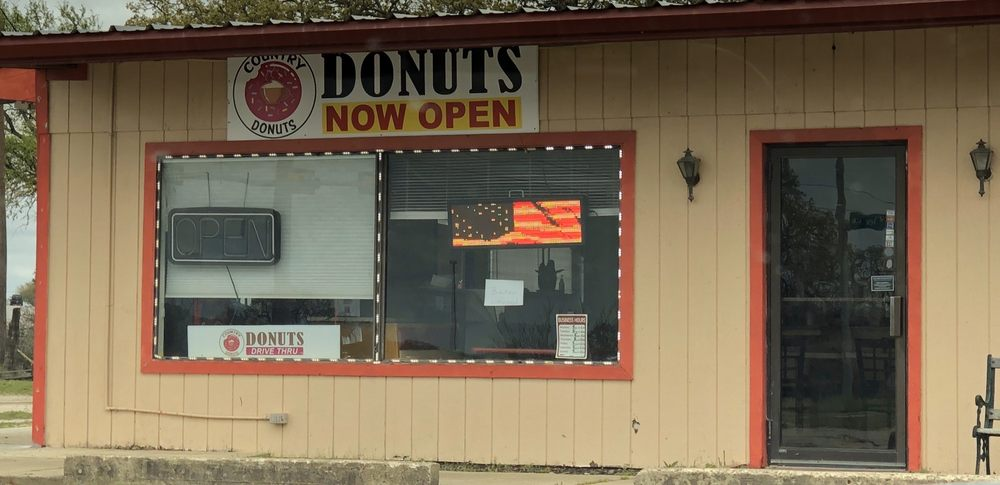 Country Donuts: 4110 Valley View Ln, Marble Falls, TX