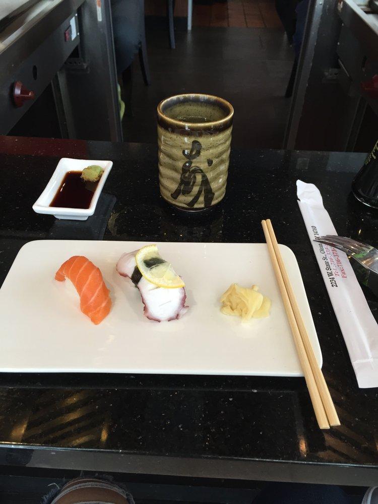 Food from Oishi Sushi & Hibachi Steak House