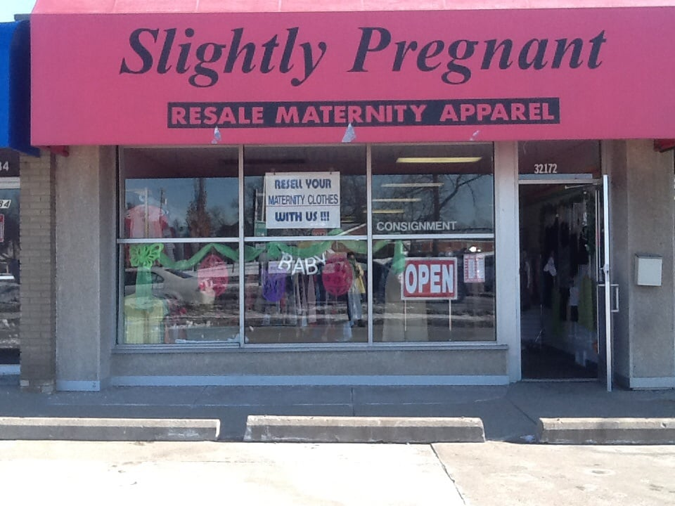 Slightly Pregnant Maternity Resale