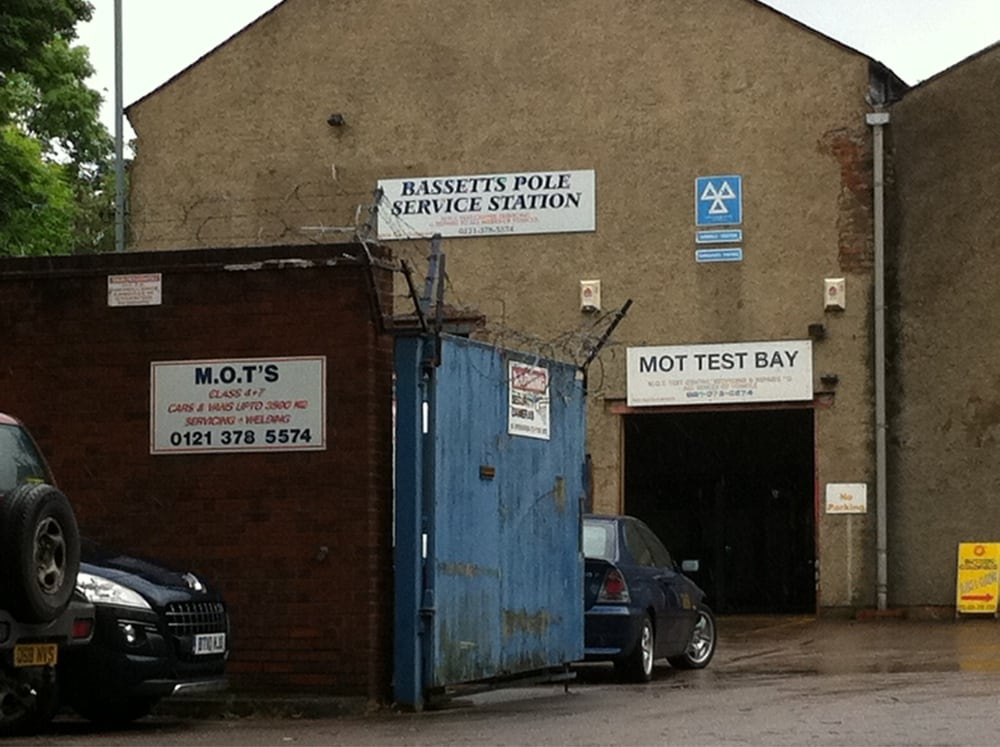Bassetts Pole Service Station Motor Vehicle Inspection Testing 2 Norris Way Sutton
