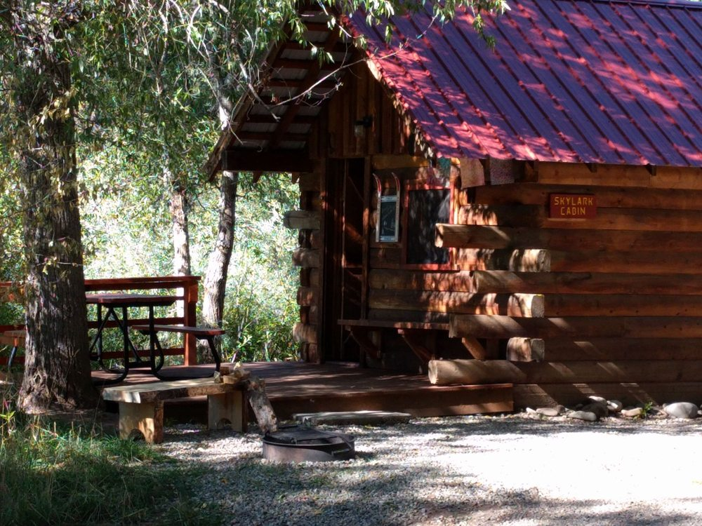 Dolores River Campground and Cabins: 18680 Hwy 145, Dolores, CO