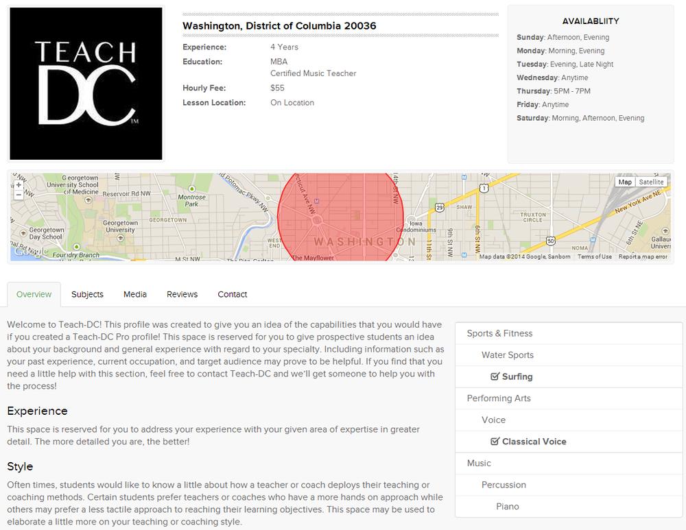 Teach-DC: 1200 18th St NW, Washington, DC, DC
