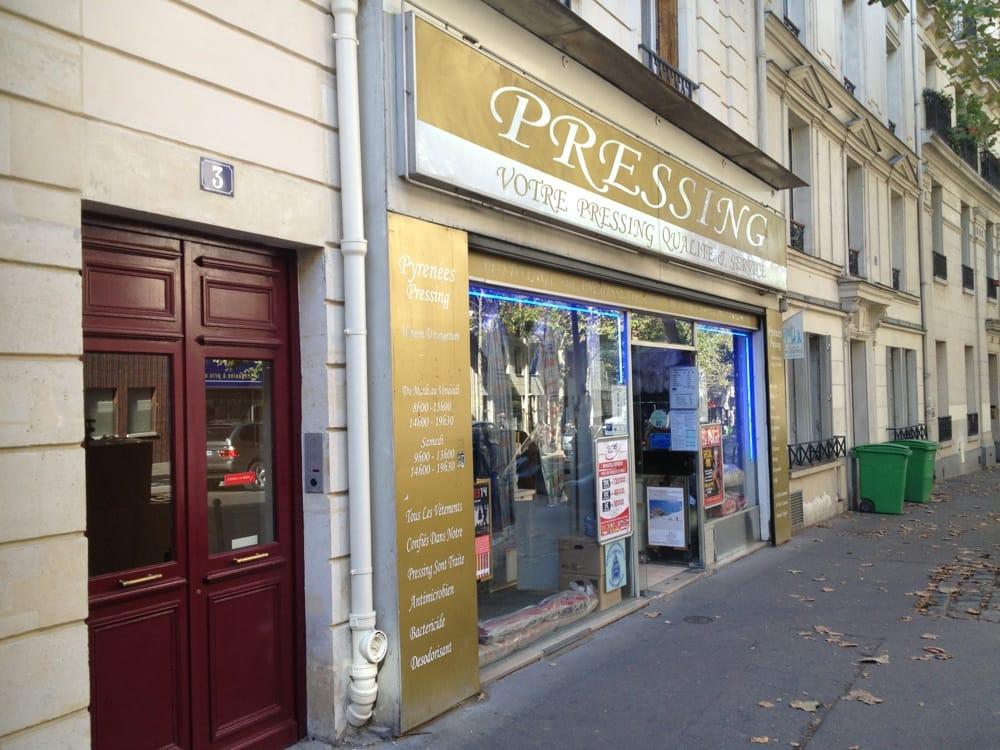 Pyr n es pressing laverie et pressing 3 avenue simon bolivar belleville m nilmontant paris - Numero de telephone printemps haussmann ...