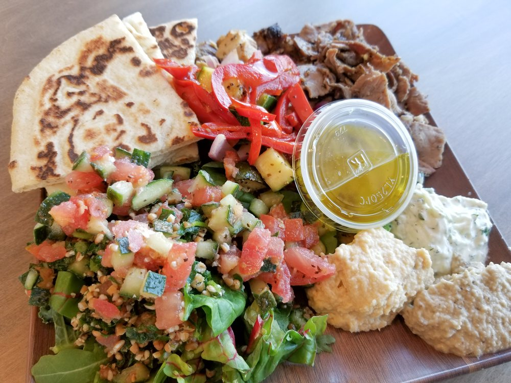 Food from Kairos Mediterranean