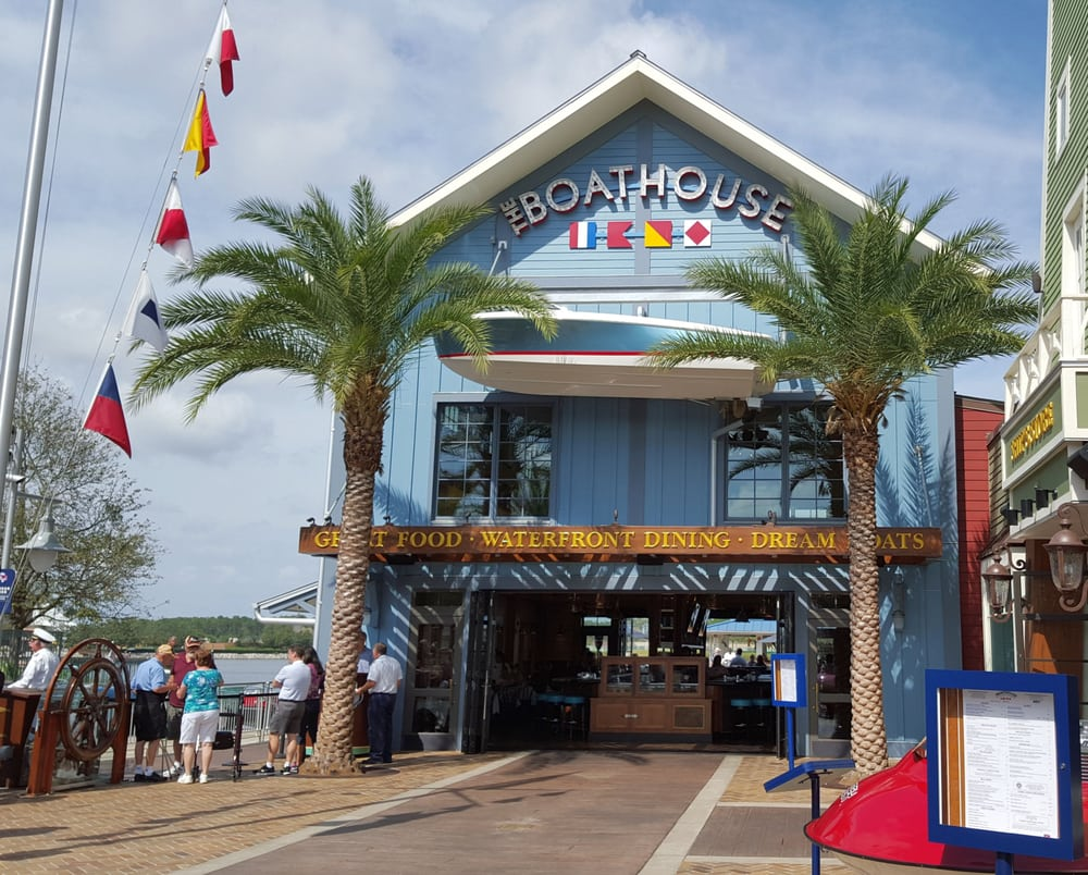 boathouse seafood restaurant in disney springs right on. Black Bedroom Furniture Sets. Home Design Ideas