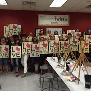 Photo Of Painting With A Twist Mansfield Tx United States