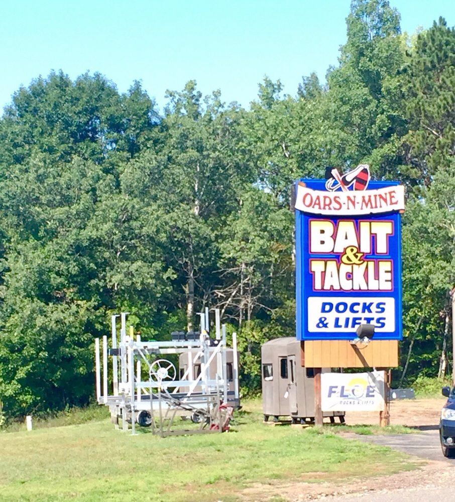 Oars-N-Mine Bait & Tackle: 22640 Highway 6 N, Crosby, MN