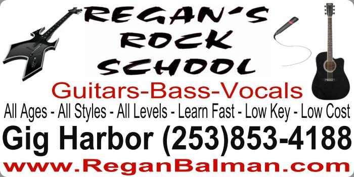 Regan's Rock School: 4320 Shore Dr NW, Gig Harbor, WA