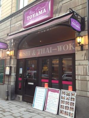 Cuisine Stockholm | Toyama Asian Cuisine Asian Fusion Hantverkargatan 8 Kungsholmen