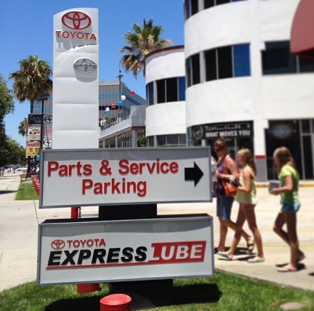 Photo Of North Hollywood Toyota Service   North Hollywood, CA, United  States. North